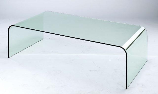 Aqua Glass Coffee Table Cubo Design Inc